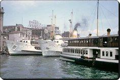 İstanbul vapurları - 1965  (Charles W. Cushman)