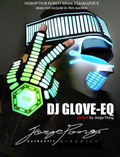 Huboptic® DJ Glove EQ Pair for DJ CDJ DJ Pro Mixer Dubstep Rave Electro Party   eBay 145 d