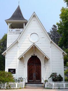Calvary Presbyterian Church - Bolinas Photographed in Marin County, California