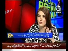 Aaj With Reham Khan - 1st October 2013 | Zindoro
