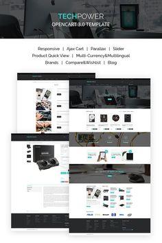 Hardware Shop OpenCart Template