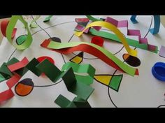 Pregraf-Art: le linee escono dal foglio - YouTube Art Activities For Kids, Art For Kids, Crafts For Kids, Arts And Crafts, Diy Crafts, Reggio Children, Kandinsky, Art Plastique, Holidays And Events