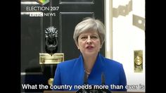 """""""Now let's get to work"""" – Theresa May says she will form a government to..."""