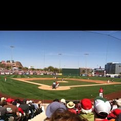 Great day at Angel Stadium in Tempe AZ
