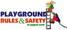 Free PowerPoint Presentations about Playground Safety and Rules for Kids & Teachers Playground Rules, Playground Safety, Free Powerpoint Presentations, Powerpoint Format, School Fun, Back To School, Childhood Obesity, Early Childhood, Natural Play Spaces