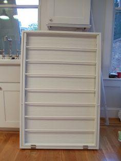 Worthwhile Domicile: DIY Laundry Drying Rack