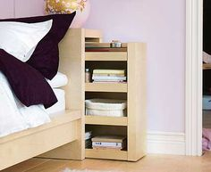 Head board storage