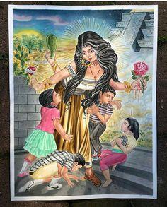 Chicano Love, Chicano Art, Chicano Drawings, Character Art, Character Design, Cholo Art, Estilo Hip Hop, Chola Style, Diy Canvas Art