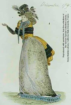 Fashion plate | Dec 2, 1791