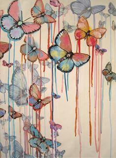 SAGE VAUGHN'S 'RUNAWAYS' OPENING NOV. 19TH  Butterflies...butterflies