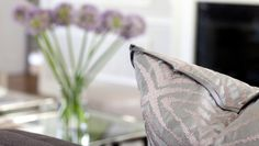 Zimmer & Rhode fabric on pillows | Morgan Harrison Home
