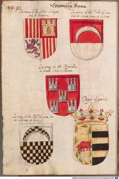 Wappen der Spanien - Spanische Wappen / Spanish Coats of Arms / Armas Españolas