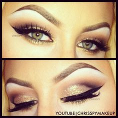 Makeup by Chrisspy, obsessed with her tutorials