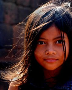 Cambodian 'Princess' -this little girl was selling bracelets to feed her family.