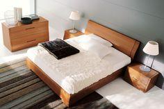 Wood Bedroom Furniture, Furniture Design, Cherry Wood Bedroom, Double Bedroom, Mattress, House Design, Home Decor, Houses, Closets