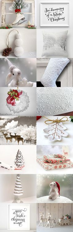 Dreaming Of A White Christmas by Jackie on Etsy--Pinned with TreasuryPin.com