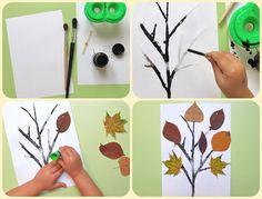 10 осенних деревьев