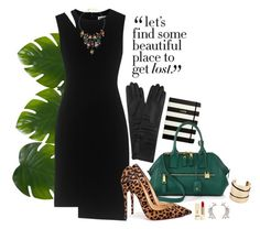 """""""7. Between edges"""" by gabyidc ❤ liked on Polyvore featuring Kate Spade, Zara Home, Marc Jacobs, Christian Louboutin, Whistles, Erickson Beamon, PUR and Akira"""