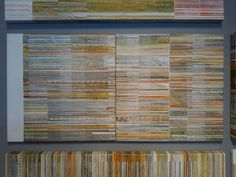 M.Ferrer, acrilic mixed, textures, 100x50, galería Quattro, Leiría, Portugal, 2016