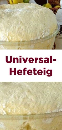 Universal-Hefeteig Universal dough Related posts: Basics: dough for empanadas from wheat flour (with video) Pizza dough Pizza and onion cake dough Ratz-fatz Bread Recipes, Baking Recipes, Healthy Recipes, Cake & Co, Breakfast Pizza, Home Baking, Home Food, Bread Baking, Pizza Hut