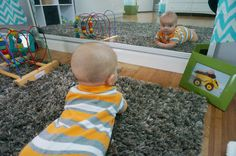 montessori nursery-great article on some easy ways to make your nursery more montessori inspired!