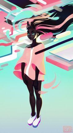 loish blog //technicolor