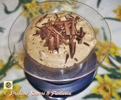 Crema di ricotta e cioccolato con caffe' Blog Profumi Sapori & Fantasia