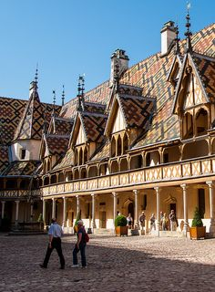 Hospices de Beaune Hotel-Dieu - Beaune, Burgundy, France