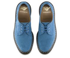 The return of a classic , Blue suede shoe