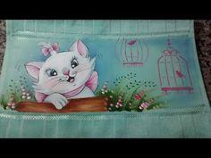 Resultado de imagem para toalha com gatinha marie
