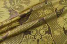 Our followers save an additional 25% on Aurora Designer Fabric in Olive with the FabricSeen secret sale. It's now only $36.75 per yard (down from $148 originally) for a limited time!!
