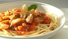 Receita de Spaghetti ao Ragu de Bacalhau da Noruega, Fotógrafo: Marco Terranova