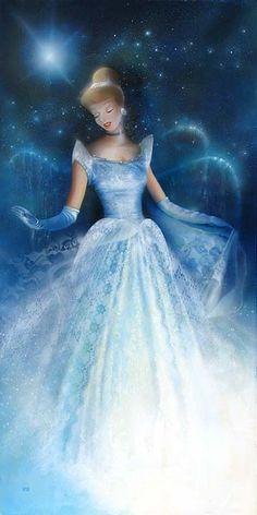 Her all-time FAVORITE Disney movie when she was little - Cinderella