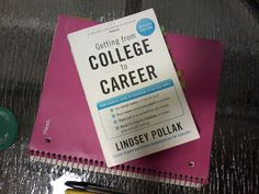 Chasing College: Book Review - Getting From College to Career by Lindsey Pollak #career #college #book #review #blog