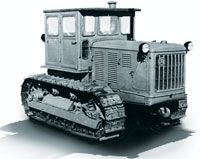 ChTZ S-100 tractor Vintage Farm, Heavy Equipment, Motorhome, Military Vehicles, Techno, Russia, Trucks, Retro, Tractors