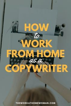 Do you have a way with words? Here's a step-by-step blueprint on how to work from home as an advertising copywriter!