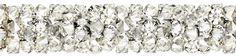 SWAROVSKI® 5951 Fine Rocks Tube (001 MOL Crystal Moonlight) Swarovski, Moonlight, Innovation, Tube, Rocks, Spring Summer, Steel, Crystals, Gold