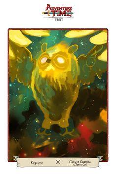 Adventure Time Fan Art Collab by Gustavo Paulino, via Behance