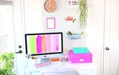 when your desk is cuter than you ♡
