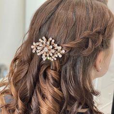 Pearl Headpiece, Rose Gold Hair, Crystal Wedding, Hair Comb, Gorgeous Hair, Bridal Accessories, Bridal Hair, Bobby Pins, Brides