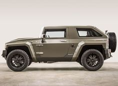 successfully combining a rugged aesthetic with luxury materials, the USSV rhino XT is inspired by the hummer H1and based on a custom JEEP wrangler unlimited.