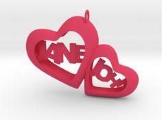Two heart (Personalize)