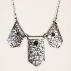 Atlantis Silver Necklace - Nectar Clothing