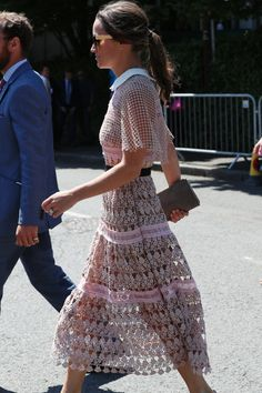 Get the look of Pippa Middleton Pippa Middleton Wedding, Pippa Middleton Style, Carole Middleton, Middleton Family, Wimbledon, Disney Inspired Fashion, Disney Fashion, Pippa Dress, Pippas Wedding