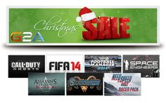 https://www.g2a.com/r/christmas_sale Christmas Sale in G2A store!  Get your favourite games in low prices! Look now: https://www.g2a.com/r/christmas_sale