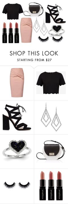 """""""Fashion look"""" by isaline-de-soie on Polyvore featuring mode, WtR, Ted Baker, ABS by Allen Schwartz, Kevin Jewelers, Joanna Maxham et Smashbox"""