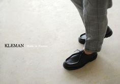 【楽天市場】KLEMAN クレマン PADRE/レザー チロリアンシューズ(全2色)【2013春夏】:Crouka LR(クローカ エルアール)