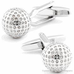Disco Ball Cuff links - Fine Men's Jewelry   Cufflinksman #cufflinks #fashion