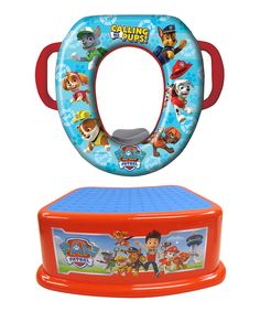 Helping little ones master their bathroom skills this toilet seat cover and step stool feature colorful PAW Patrol images making going potty more fun.  sc 1 st  Pinterest : potty chair step stool - islam-shia.org