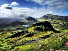 magický ostrov na severe Škótska.. Isle of Skye!